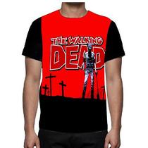 Camisa Camiseta The Walking Dead - Tv Serie