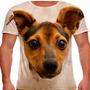 Camiseta Cachorro Fox Paulistinha Masculina