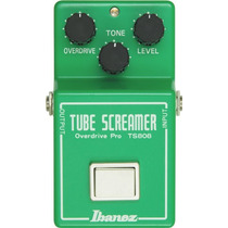 Pedal Ibanez Tube Screamer Ts808 - Made In Japan Pronta Entr