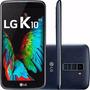 Celular Smartphone Lg K10 K430tv Tela 5,3 4g Tv Digital Azul