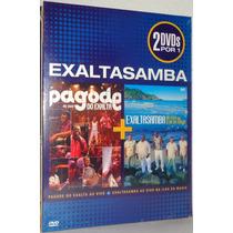 Dvd Exalta Samba - Pagode Do Exalta + Ilha Da Magia (duplo)