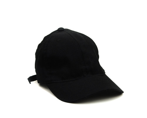 Bone Rich Young Aba Curva Trucker Preto Liso Dad Hat 7f61bcee806