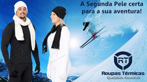 b978943a6 Blusa E Calça Segunda Pele Térmica Neve Frio Viagem Esportes. R  138