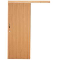 Kit Porta De Correr Semi-sólida 2,10mx90cmx12cm Angelim