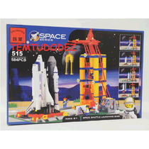 Base Lançamento Onibus Espacial- 584 Peças - Similar Lego