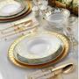 Aparelho De Jantar Porcelana/ 845814 83 Peças (12 Pessoas)