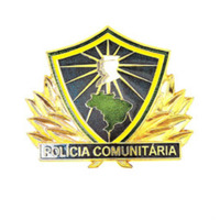 Distintivo de Metal Policia Comunitária I - PMMG