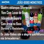 Boneco Inflável João Bobo Monstros Com Luvas -mor