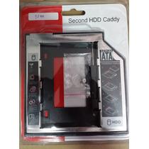 Adaptador Dvd Para Hd Ou Ssd Notebook Drive Caddy 9,5mm Sata