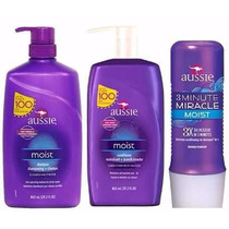 Kit Aussie C/3 Shampoo+condicionador 865ml + Mascara 236ml
