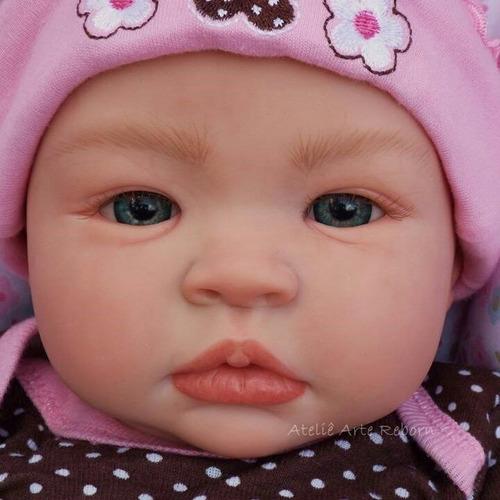 85f95a8192a195 Linda Boneca Bebê Reborn Menina Realista Doll Baby Barato à venda em ...