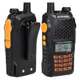 Radio Ht Walk Talk Dual Band Uhf Vhf Comunicador Uv-6r -top