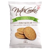Cookie De Limão Sem Açúcar, Sem Glúten, Sem Lactose, Sem Ovo