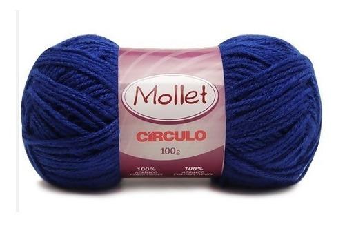 33e6546b4 Lã Mollet 100g Kit Com 28 Novelos (escolha As Cores)