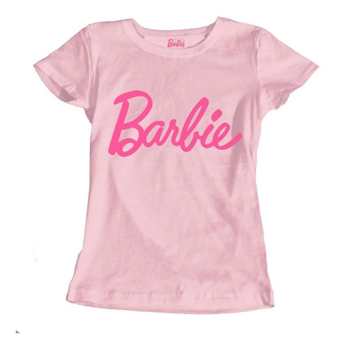b45f37528d60 Kit 5 Camisetas Femininas Baby Look Barbie Atacado