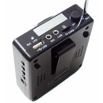 Amplificador Voz Megafone Microfone Professor Aula Venda.