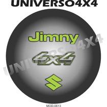 Capa Estepe Jimny, Suzuki, Couro Sint, Pneu 205x70x15, M0613