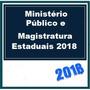 M Público E Magistratura Estaduais 2018 Dvd Vídeo + Apostila