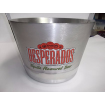Balde Gelo Desperados Alumínio Original Alça Abridor Garrafa
