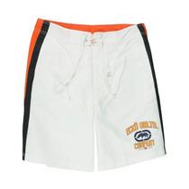 Ecko Unltd. Mens A Temporada De Natação Shorts Placa De Fu