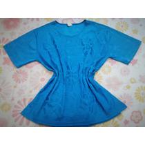 Blusa Feminina Moda Fashion Azul Royal Tam M