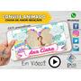 Vídeo Convite Virtual Animado Chuva De Amor E De Bençãos