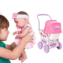Kit Boneca Baby Ninos + Carrinho Ninos Cotiplás! Promoção!