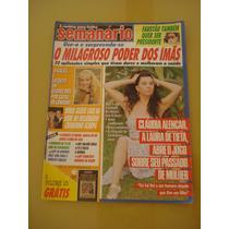 Revista Semanário Cláudia Alencar Angélica Faustão Ano 1989