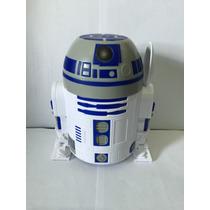 Star Wars, Robô R2d2, Porta Chocolate Em Pó De 14cm Altura