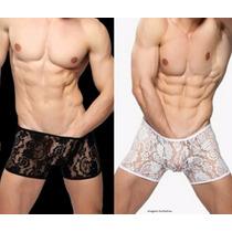 Cueca Renda Boxer Masculina - Sexy - Promoção