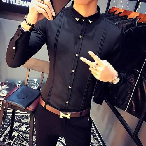 4a7e78110e Camisa Social Masculina Slim Fit Luxo Importada Da Bulgaria à venda em  Matão Sumaré São Paulo por apenas R  164