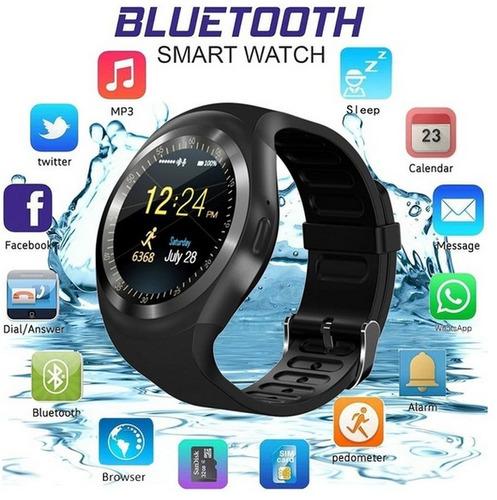 32b623d2abe Relógio Inteligente Bluetooth Original Android iphone 2019