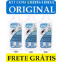 Kit C/ 3 Filtro Refil P/ Purificador Libell Flex Original