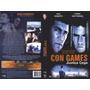 Dvd - Con Games - Justiça Cega