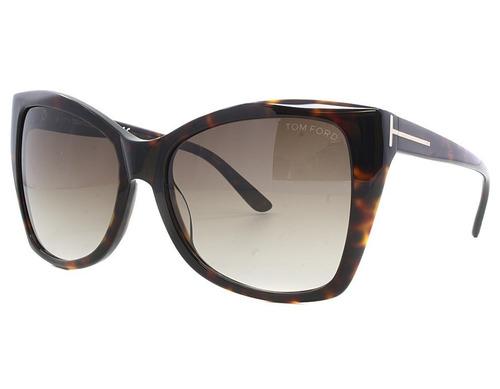 c98f84a7d Óculos De Sol Tom Ford Carli Tf 295 52 F Marrom Tartaruga