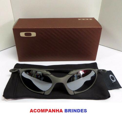 7c76c5ab4e170 Oculos Oakley Romeo 1 Cinza+ Certificado + Teste Lente. R  84.9