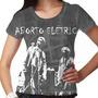 Camiseta Rock Nacional Aborto Elétrico Feminina