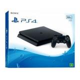 Ps4 Slim 500gb Com Jogo Playstation 4 Novo Barato