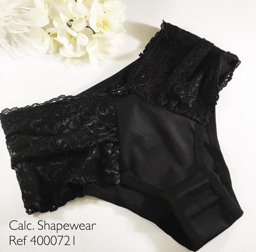 656d703a2 Calcinha Cinta Shapewear Com Renda Diamantes Lingerie