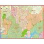 Mapa Gigante Região Do Grande Abcd São Paulo - Frete Grátis