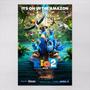Poster 30x45cm Filmes Infantis Animacao Rio 02