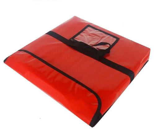 47aa33568 Bolsa Envelope Térmica De 35cm Para Uma Pizza 10 Unidades