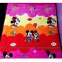 Manta Para Bebê Mickey E Minnie Baby Disney Menina Berço
