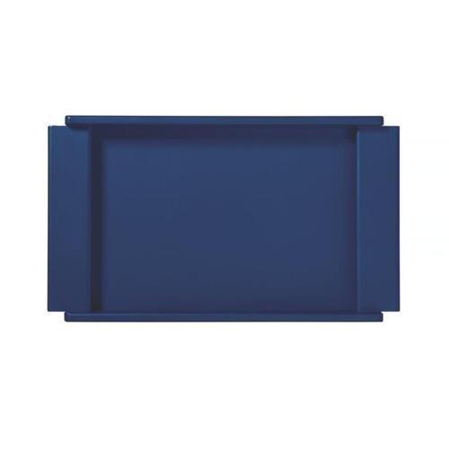 Bandeja Retangular 50 X 34 Cm Azul - Design C - Tramontina