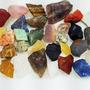 Coleção 30 Pedras Preciosas Brasileiras Brutas Naturais
