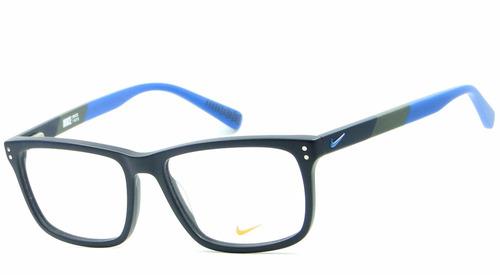 d3aa928d9 Armação Para Óculos De Grau Nike 7238 405 Masculina Original. R$ 559