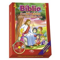 Livro A Bíblia Em Uma História Para Cada Dia Do Ano