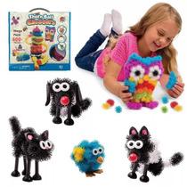 Quebra Cabeça Bunchems 3d Infatil + Brinde Brinquedo Infanti