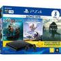 Ps4 Slim 1tb Hdr Playstation 4  3 Jogos   Psn   Promoção!!