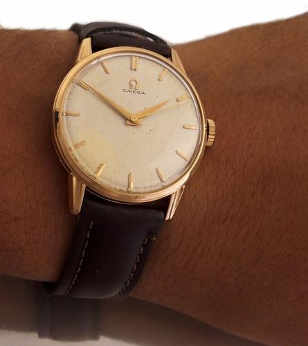 91482fcfb78 Relógio Omega Masculino Manual A Corda Em Ouro 18k J12588